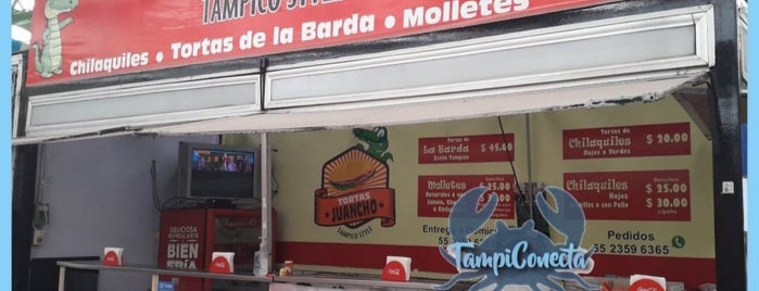 Tortas Juancho Tampico Style (De la barda) is one of Df.