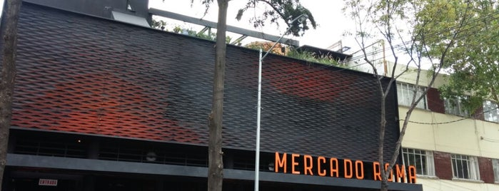 Mercado Roma is one of Df.