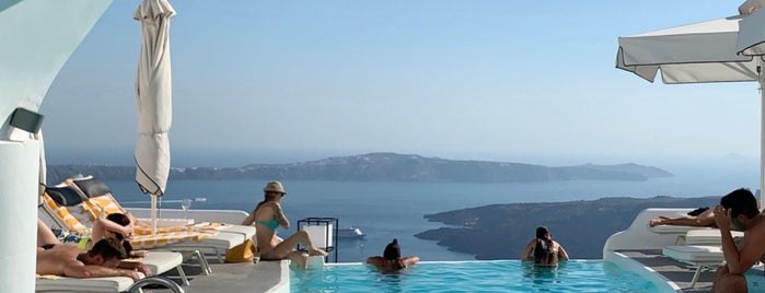 Chromata Up Style Hotel is one of Santorini.