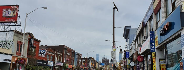 Koreatown is one of Toronto.
