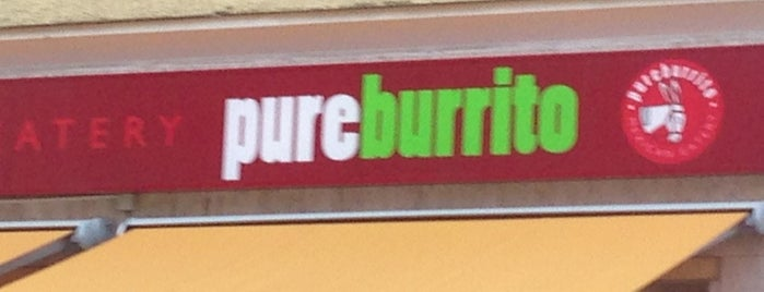 pureburrito is one of Restaurants, Cafès, Bars.