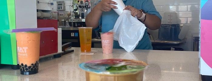 Fat Straws Bubble Tea Co. is one of Breakfast & Brunch - Dallas.
