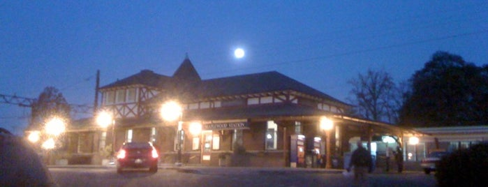 NJT - Maplewood Station (M&E) is one of New Jersey Transit Train Stations.