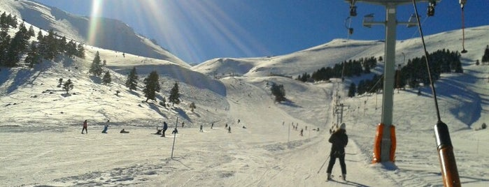 Kalavrita Ski Resort is one of Winter destinations in Greece.