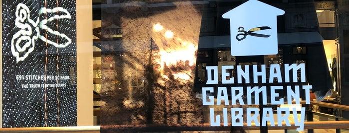 Denham Flagship Store is one of Amsterdam.