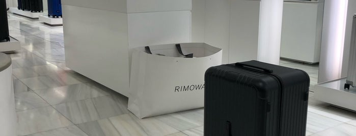 Rimowa is one of Barcelona.