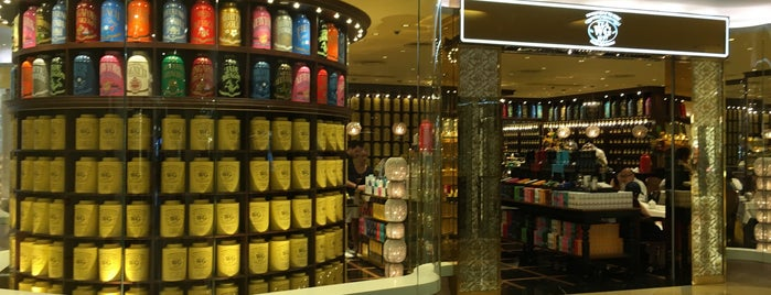TWG Tea is one of Orte, die Esra gefallen.