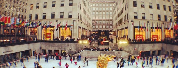 Rockefeller Center is one of #myhints4NewYorkCity.