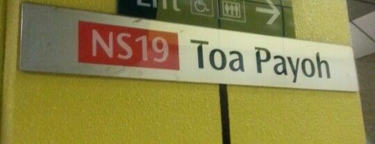 Toa Payoh MRT Station (NS19) is one of Singapore.