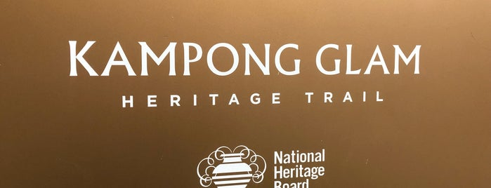 Kampong Glam is one of Sing-a-pore.