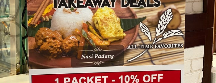 Red Ginger Café is one of Micheenli Guide: Nasi Padang trail in Singapore.