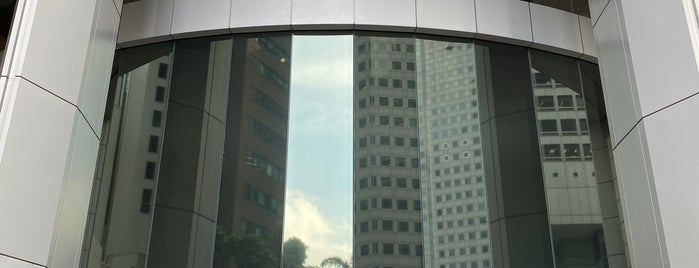 One Raffles Place is one of Tempat yang Disukai MAC.