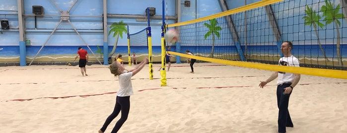 Всесезонный центр пляжного спорта «Песок» is one of Stanislavさんのお気に入りスポット.