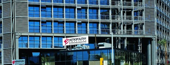 Metropolitan Hospital is one of Ifigenia: сохраненные места.
