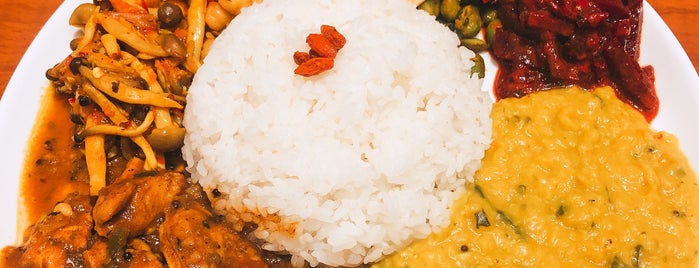 Pongala Curry is one of TOKYO-TOYO-CURRY 4.