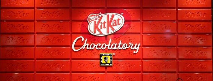 Kit Kat Chocolatory is one of Japao.