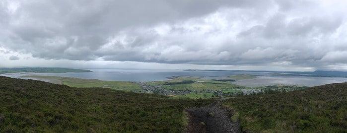 Knocknarea Summit is one of Sligo.