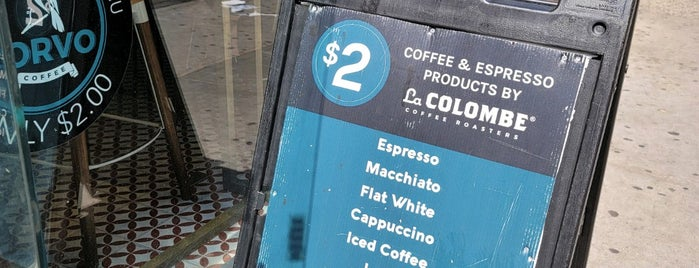 Corvo Coffee is one of The Block is Hot #midtown.