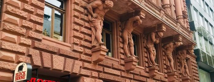Block House is one of Frankfurt.