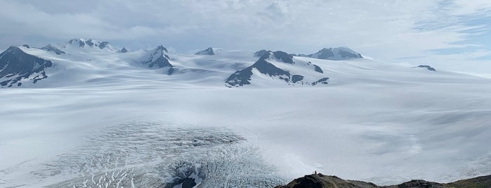 Harding Icefield Trail is one of Alaska.