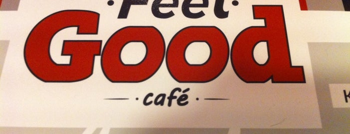 Feel Good Cafe is one of Locais curtidos por Roza.