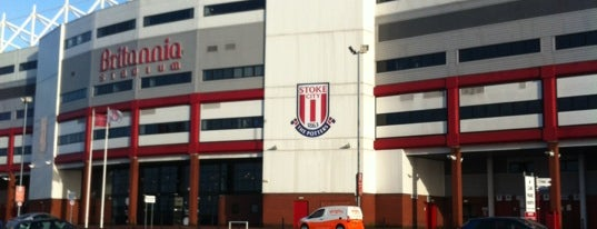 Britannia Stadium is one of Nancy's Wonderful Places/Games/	Clothes ect....