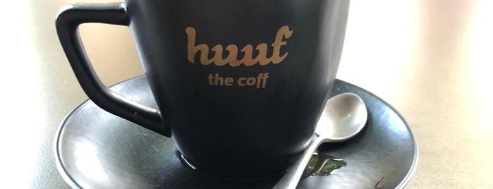 Huuf The Coff is one of #kahvemtermosta mekanları.