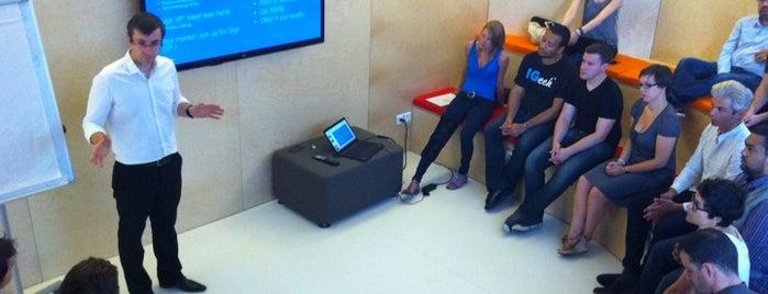 Microsoft Ventures Accelerator Paris is one of Tempat yang Disukai Jean-Francois.