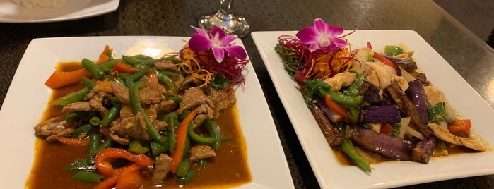 Royal Orchid Thai is one of 30A EATS Best In SoWal - Santa Rosa Beach.