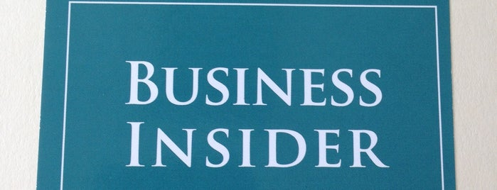 The Business Insider is one of Silicon Alley, NYC.