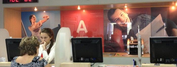 Альфа-Банк is one of Lugares favoritos de Георгий.