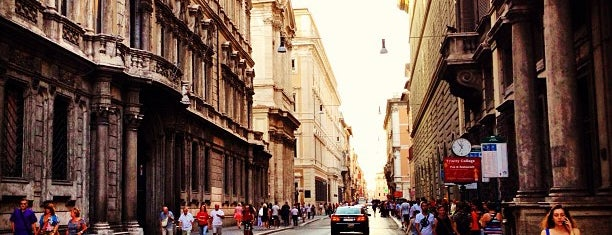 Via del Corso is one of Luci Natalizie.