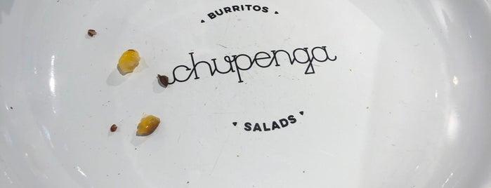 Chupenga is one of Cody'un Kaydettiği Mekanlar.