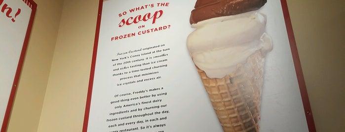 Freddy's Frozen Custard & Steakburgers is one of Cinci Work Food.