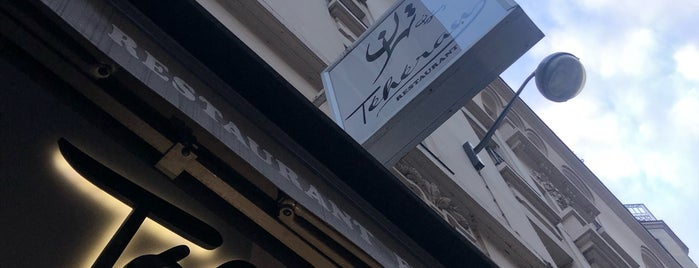 Restaurant Téhéran is one of Paris.