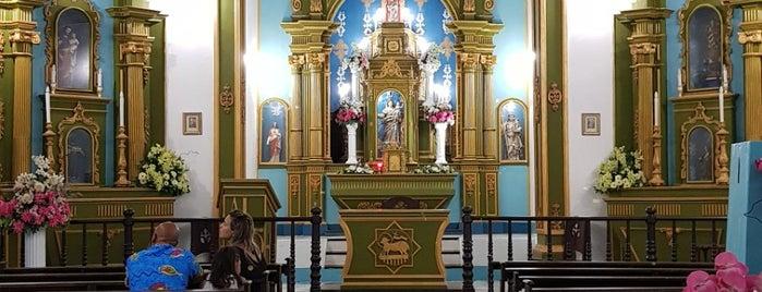 Igreja Nossa Senhora da Luz no Morro de São Paulo is one of Locais curtidos por Sabrina.