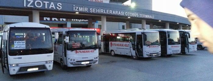 İzmir Şehirler Arası Otobüs Terminali is one of En çok check-inli mekanlar.