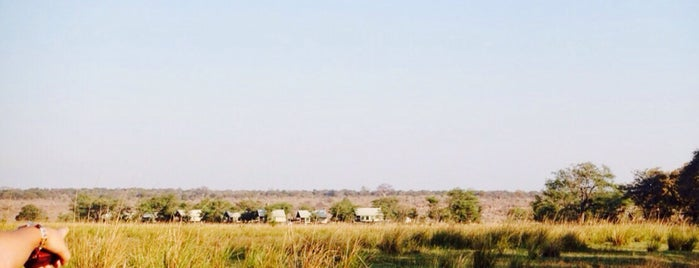 Chobe Camp is one of Lugares favoritos de Jean-François.
