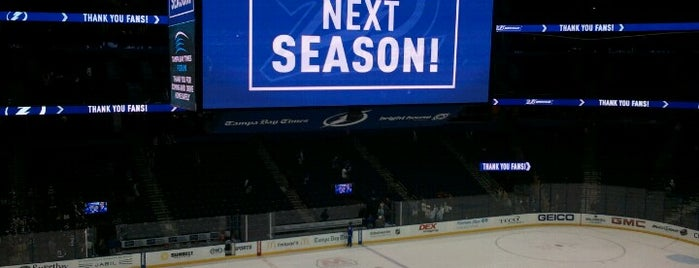 Amalie Arena is one of Sporting Venues....