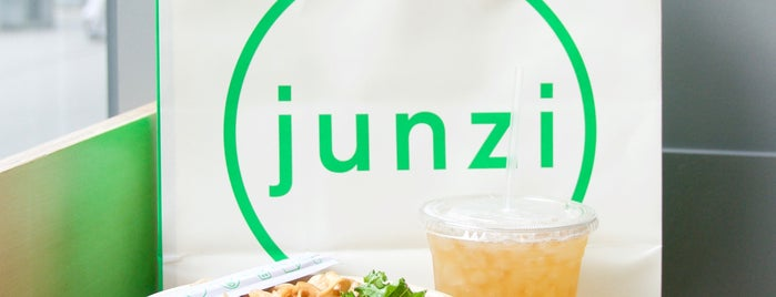 Junzi Kitchen is one of The New Yorkers: Veggie-Friendly.