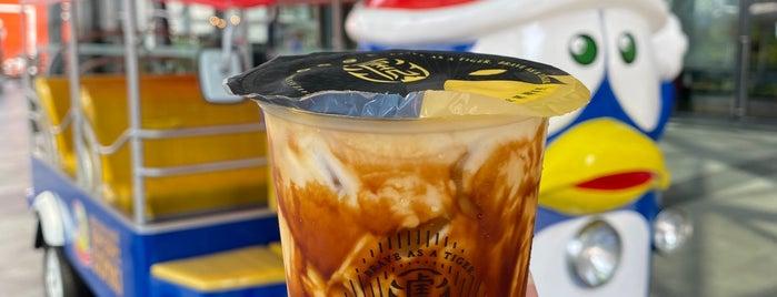 Tiger Sugar is one of BKK_Tea/ Chocolate/ Juice Bar.