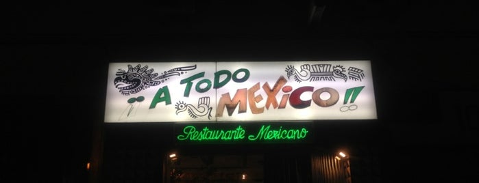 a todo mexico is one of Zampar en Madrid.