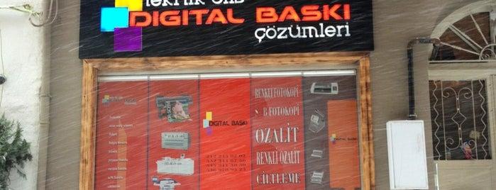 TeknikCopy center &Dijital Baskı çözümleri is one of Istanbul.