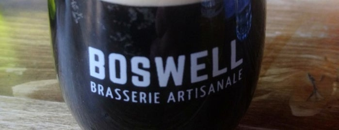 Boswell Brasserie Artisanale is one of Brewed in Montreal.