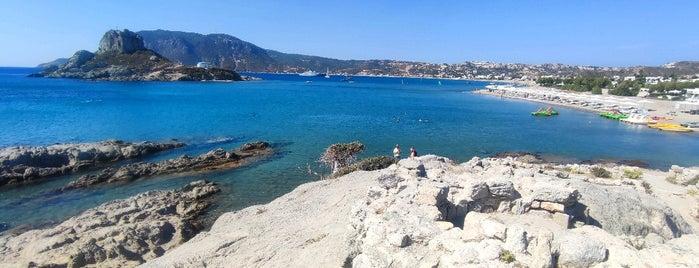 Agios Stefanos Beach is one of Kos.