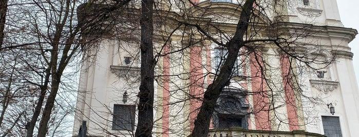 Bazylika Mniejsza i Klasztor na Skałce is one of สถานที่ที่ Carl ถูกใจ.