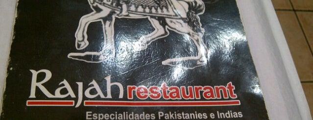 Rajah is one of A comer y a beber.