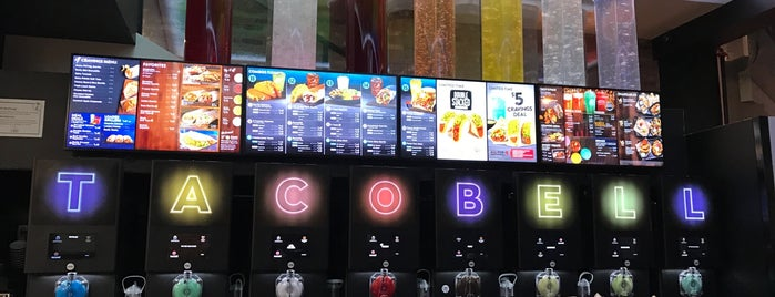 Taco Bell Cantina is one of Vegas to check out.