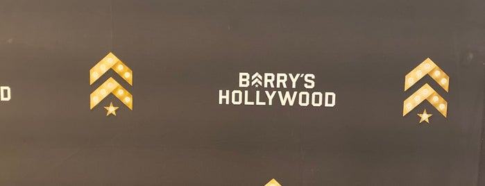 Barry's Bootcamp is one of central LA.