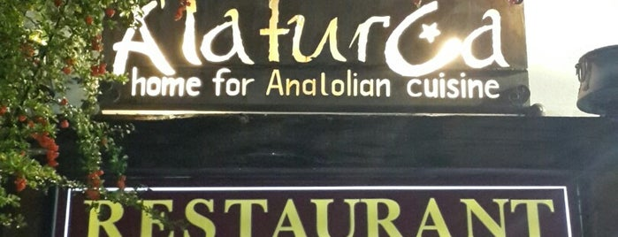 Alaturka Restaurant is one of Locais curtidos por Fernando.